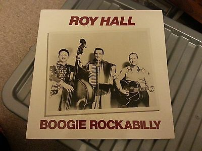Vinyl - Boogie Rockabilly - Roy Hall - Lp Record