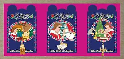 DLP Christmas Pin Trading Event Beauty and the Beast Belle Disney land Paris LE