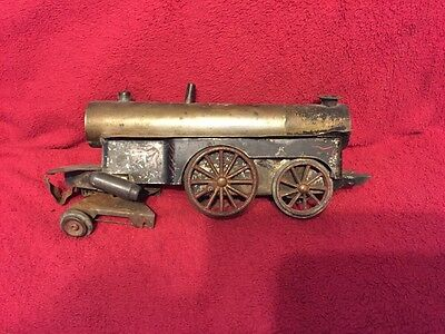Rare Beggs No 4 Steam Engine Train Locomotive Toy 1880's