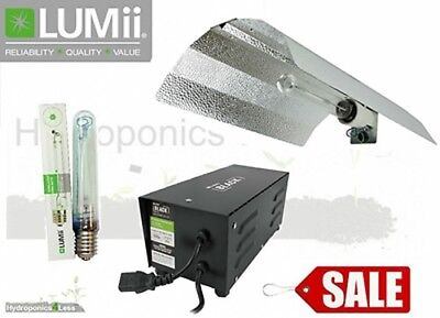 SALE Lumii 600w Ballast Grow Light Kit Hydroponics Sunblaster 600w Bulb HPS Dual