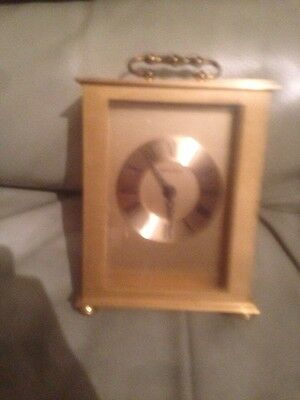Brass Carriage Clock In Working Order
