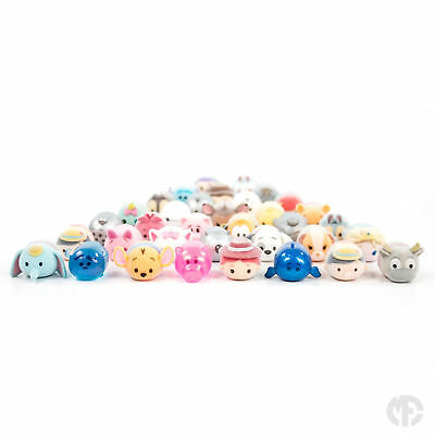 Disney Tsum Tsum Squishies - Series 2 Fuzzy Feel Figures - Choose your Figure