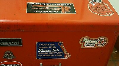 GENUINE SNAP-ON TOOL BOX with TOOLS