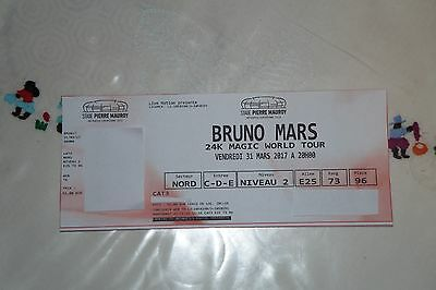 Concert Bruno Mars - Lille - 1 Place