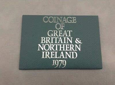 1979 Coinage Of Great Britain & Northern Ireland Proof Set