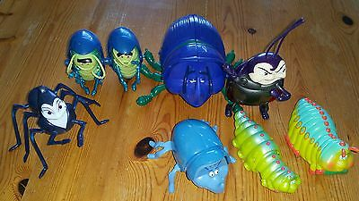 Disney's A Bugs Life Mixed Toy Figure Bundle some mcdonalds toys
