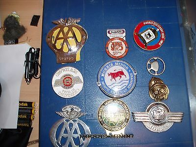 Aa Badges And Morris  Minor Badges