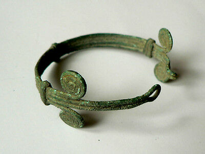 Greek / Thracian Bronze Bracelet