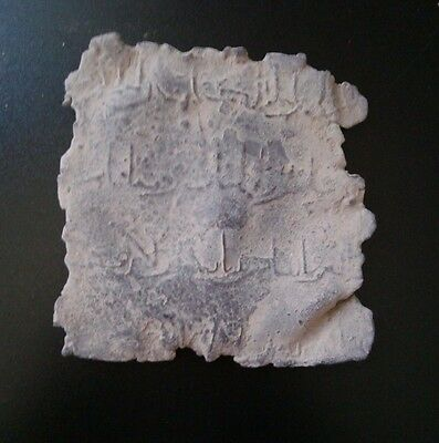 Original Old Amulet Al Andalus Califate With Arab Inscriptions..