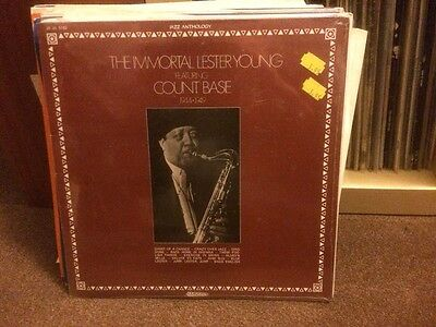 Lester Young: The Immortal.. LP still sealed. Count Basie