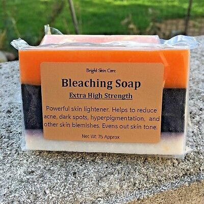 90g Super High Strength Skin Bleaching Whitening Large Soap Safe & Effective