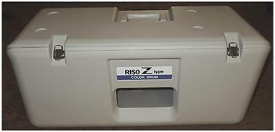 NR-NO RESERVE!---RISO Z TYPE HUNTER GREEN COLOR DRUM in CASE for Risograph