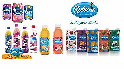 Rubicon Exotic Juice Drinks 288ml 330ml 500ml 1Litre All Favourite Flavours