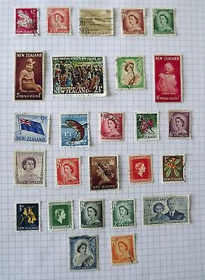 New Zealand 1948-1966. 26 stamps.