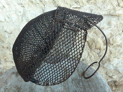 Amazing Antique 19th Century French Fencing Mask for Decorative Display