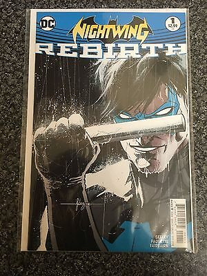Nightwing Rebirth Issue 1 Nm/vf Unread First Print Bagged And Boarded
