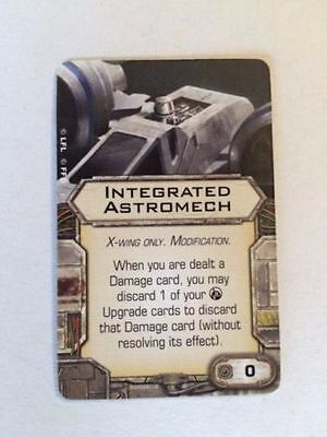 Star Wars X-wing Miniatures Integrated Astromech MODIFICATION upgrade card