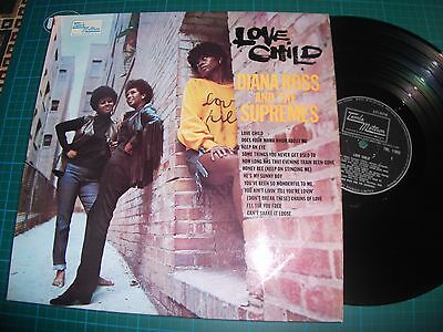 DIANNA ROSS AND THE SUPREMES - LOVE CHILD - Vinyl Lp TML 11095 A1/B1 VG