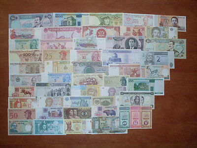50 World Banknotes #1