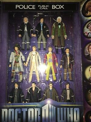 Doctor Who Eleven Figure Anniversary Boxed Set
