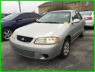 2002 Nissan Sentra XE Used 02 Nissan Sentra XE 1.8L I4 Auto FWD Sedan Silver Cheap Low Miles Reserve