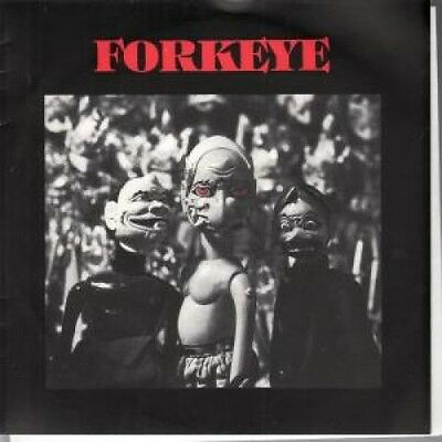 """FORKEYE Grinning Skull 7"""" VINYL B/W Perfumed Metal Numbered Out Of A Thousand"""