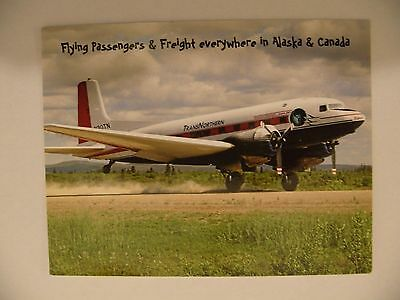 Airline Issue Postcard TRANS NORTHERN AVIATION DC3