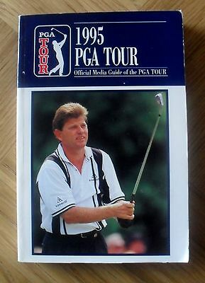 GOLF - 1995 PGA Tour Guide  issued by PGA 1995 First Edition