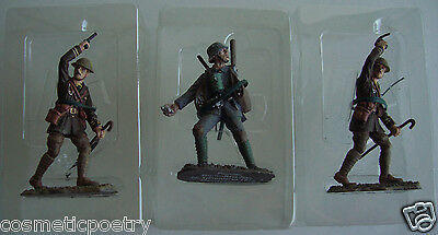 Three Hand Painted World War One Lead Soldiers 1914/1918