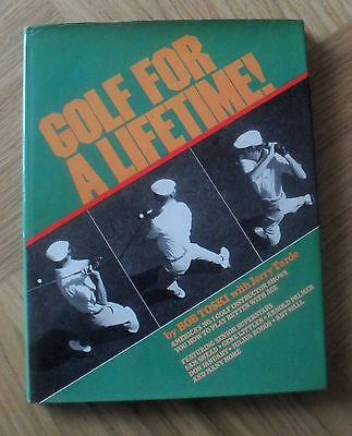 GOLF - Golf for a Lifetime by Bob Toski 1981 First Edition