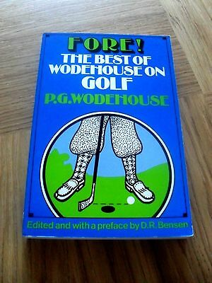 GOLF - Fore The Best of Wodehouse on Golf by P.G. Wodehouse 1983 1st Edition