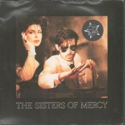 "SISTERS OF MERCY Dominion 7"" VINYL 3 Track Remix B/W Untitled And"