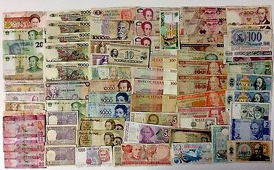75 World Assorted Banknotes