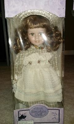 Collectable Bisque Porcelain Doll