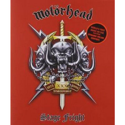 MOTORHEAD Stage Fright DVD Hd Dvd Live At The Philipshalle, Dusseldorf