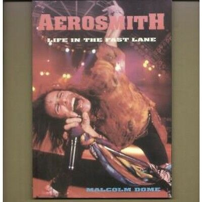 AEROSMITH Life In The Fast Lane BOOK 112 Page Book By Malcolm Dome UK Castle
