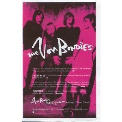 VON BONDIES Pawn Shoppe Heart FLYER Double Sided Full Colour Promo Flyer Approx