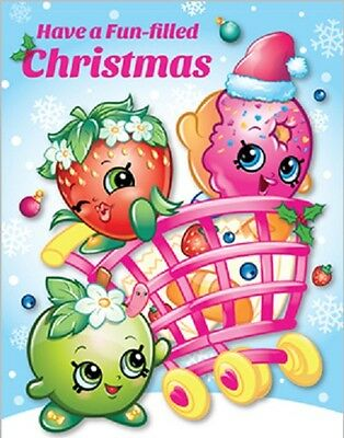 Personalized Christmas letter from Santa with Shopkins stickers & coloring page
