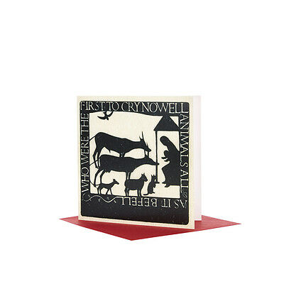 Tate Christmas Card Eric Gill Animals All (Pack Of 10)