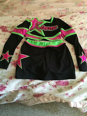 Cheerleading youth outfit/uniform Or Halloween Costume