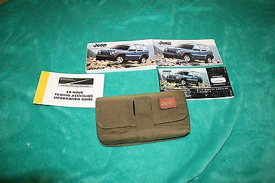 2005 JEEP LIBERTY OWNERS MANUAL GAS & DIESEL PACKAGE & CASE Sport Limited