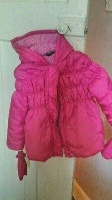 Girls coat age 5-6 from george