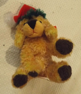 New With Tags Vintage Collectable Jingle Pup Christmas Dog Bean Bag Beanie By Ty