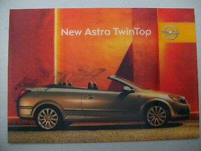 CART'COM  Lenticulaire Holographique - OPEL ASTRA TWINTOP