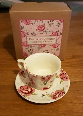 Emma Bridgewater Rose and Bee small cup & saucer