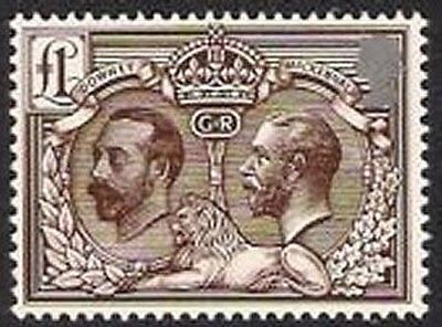 2010 GB London Festival of Stamps £1 Double Head Stamp - SG 3069 - Shows KGV Hea
