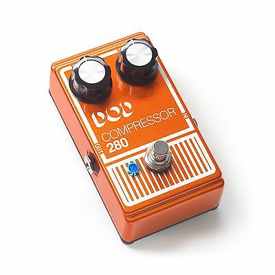 New DOD Compressor 280 Guitar Effects Pedal!