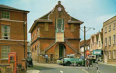 POST CARD, WOODBRIDGE, SUFFOLK, The Shire Hall
