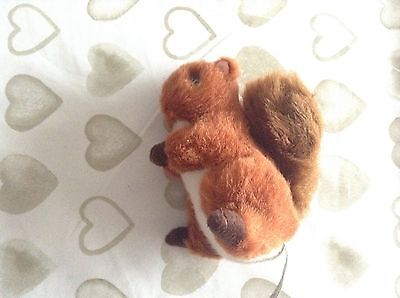 Small squirrel soft toy