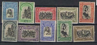 Portugal 1928 Centenary short set to 40c Mint MH